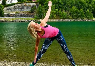 Yoga strand Norge