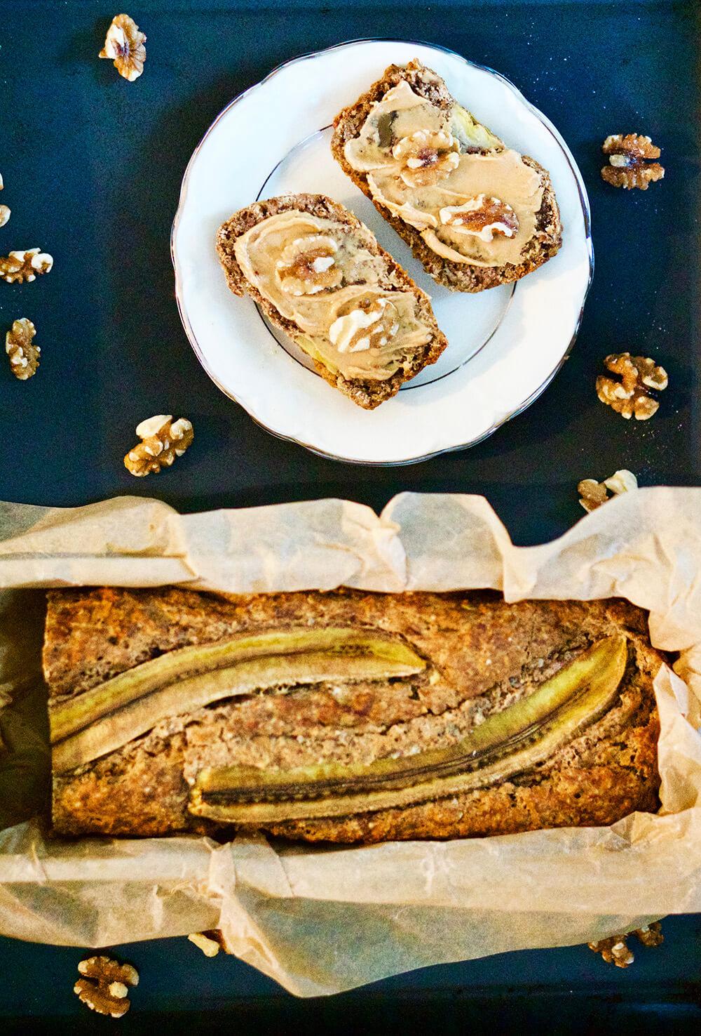 Bananbröd recept