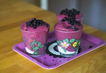 blåbärssmoothie recept