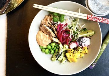 poke bowl tonfisk recept