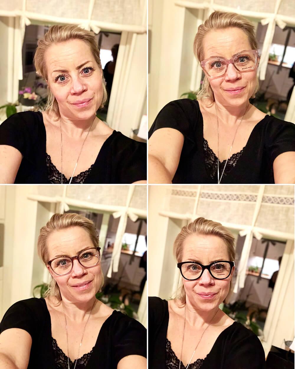 Karin Axelsson nya glasögon