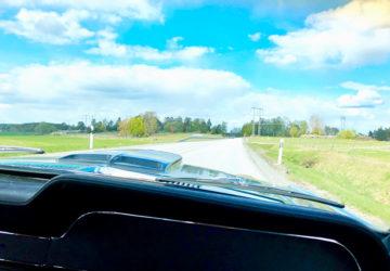 Utflykt med Mustangen