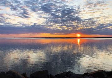 solnedgång Mariestad svemester