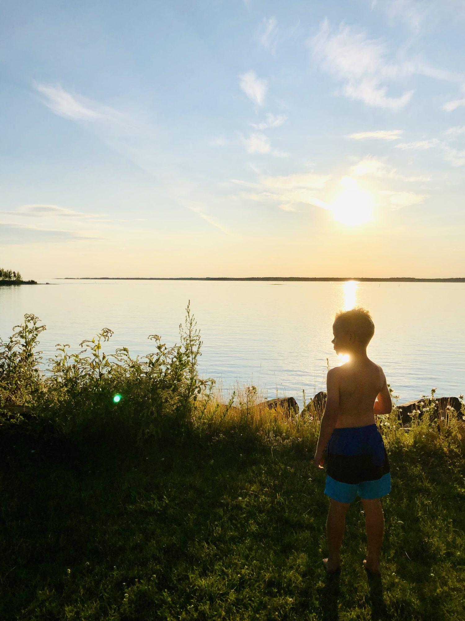 solnedgång sommar