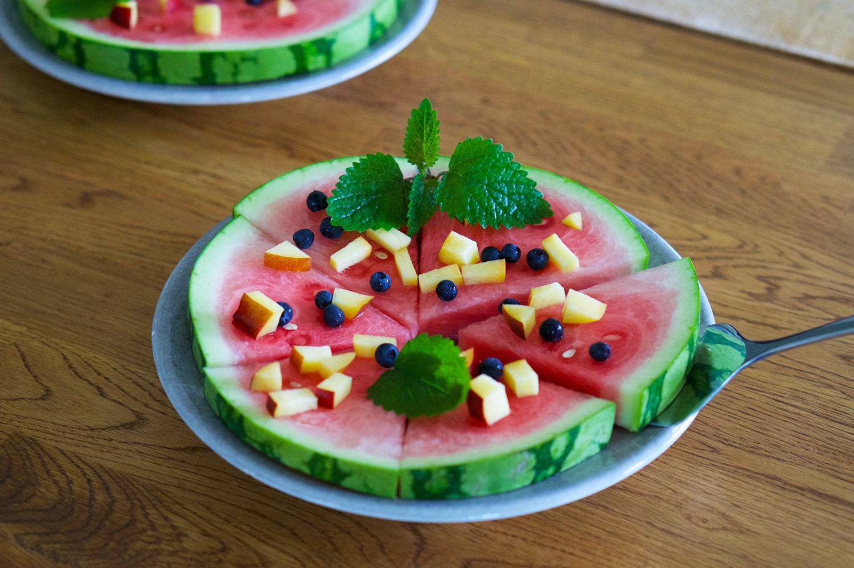 Sommarkänsla tips: vattenmelonpizza