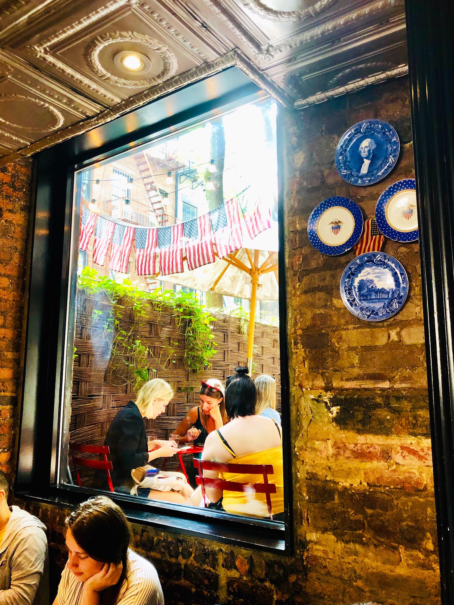 frukosttips i New York - frukost på Buvette