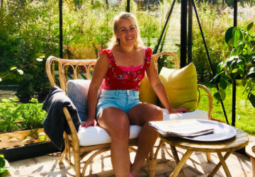 Karin i växthuset