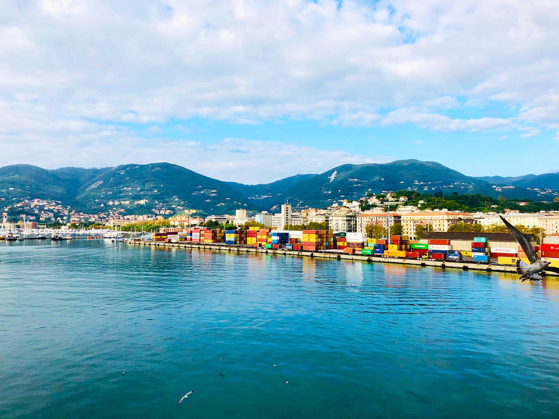 På kryssning Medelhavet med MSC Seaview - Civitavecchia