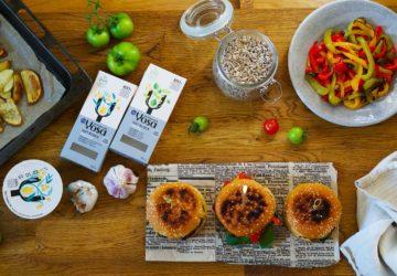 Yosa Oat vegansk burgare - recept