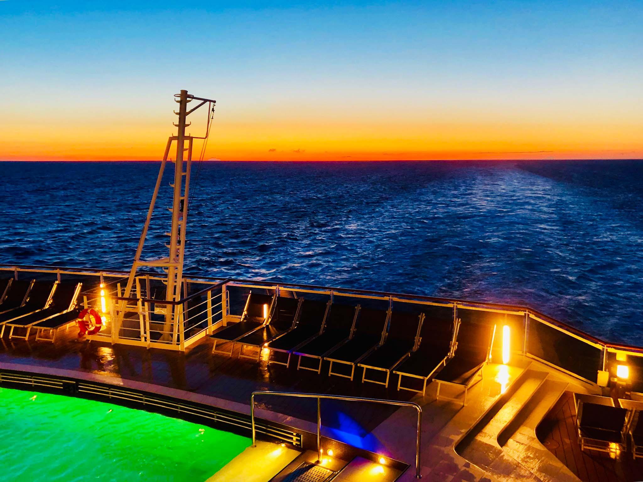 MSC Seaview - utsikten