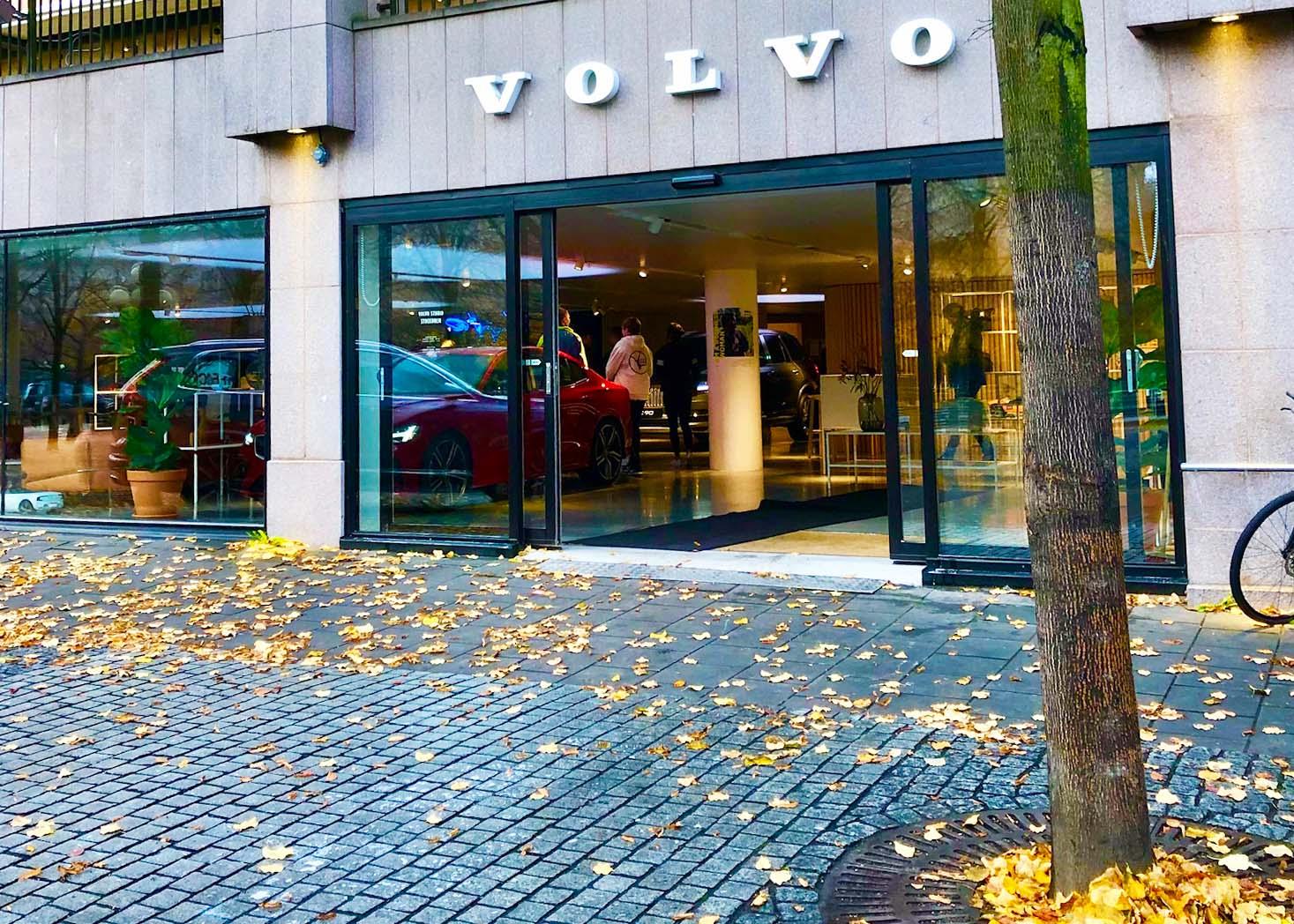 Träning med I am Ready och Volvo studios