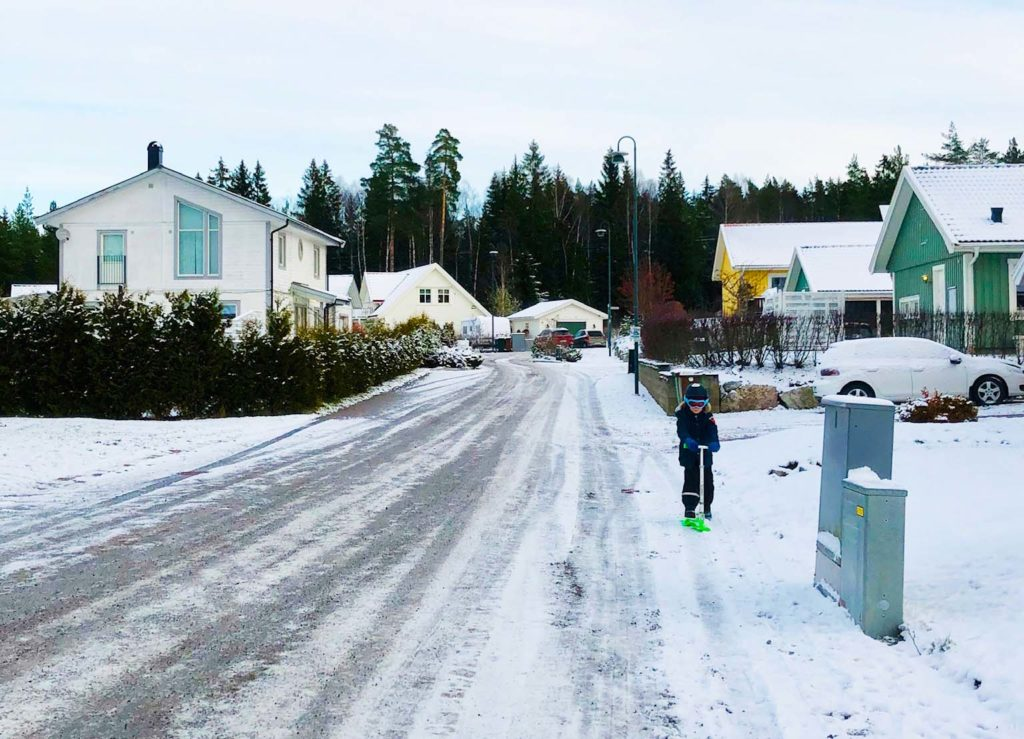 Snö på första advent