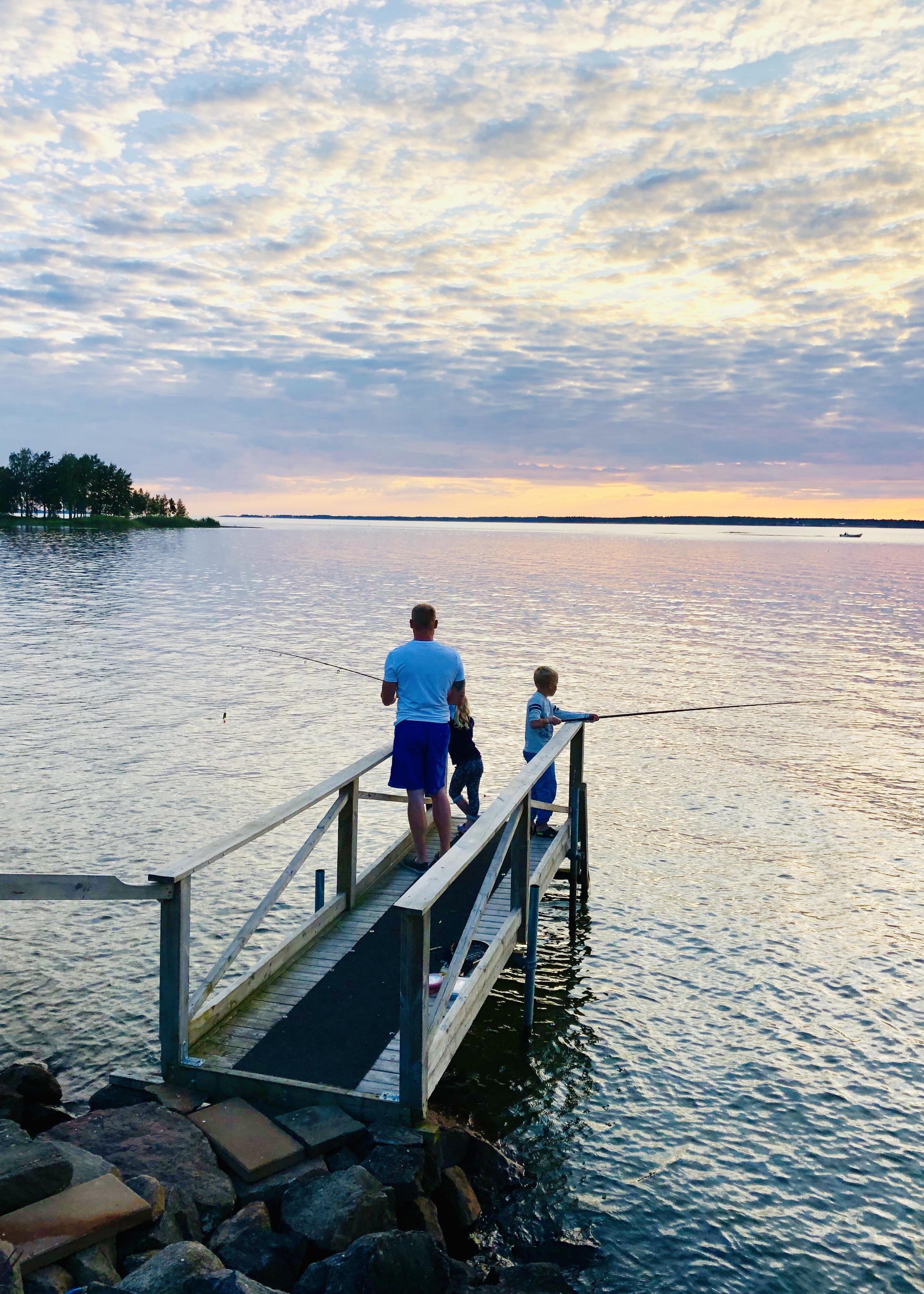 Fiske i Mariestad
