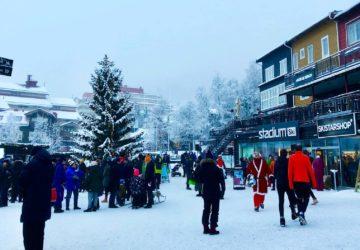 Julafton 2019 i Åre