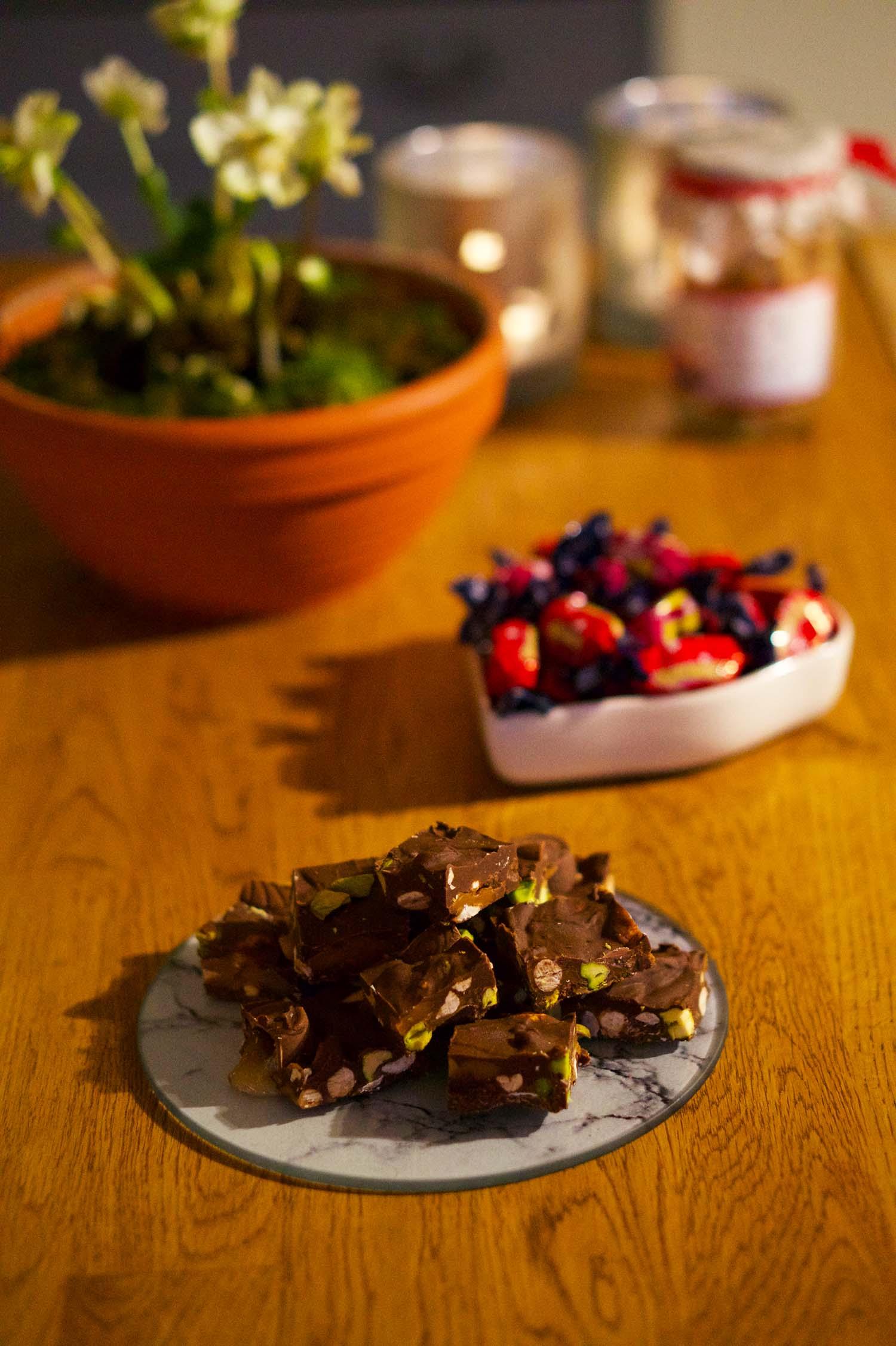 Rocky Road tranbär recept