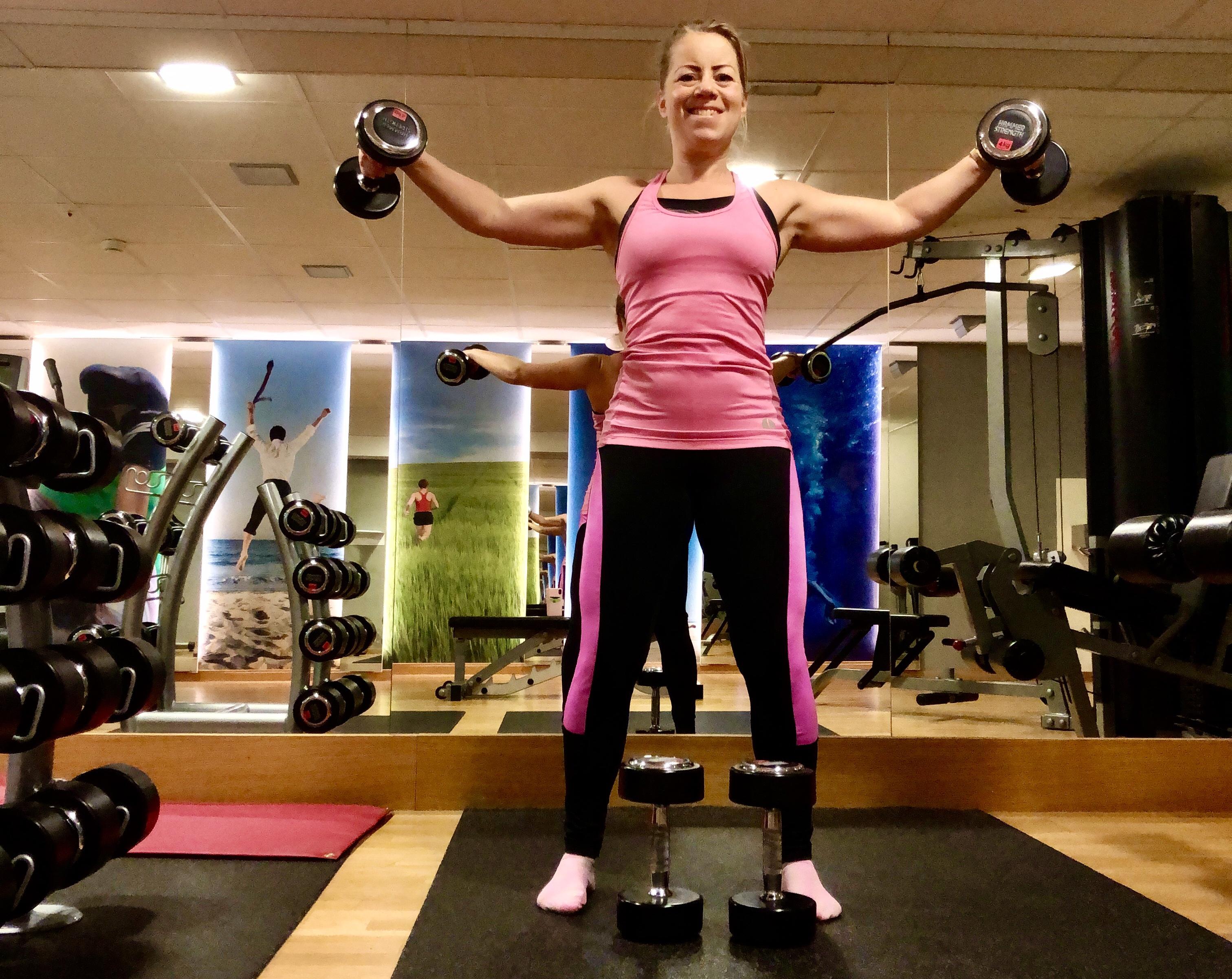 Styrketräning gym - mitt löfte för styrketräningen