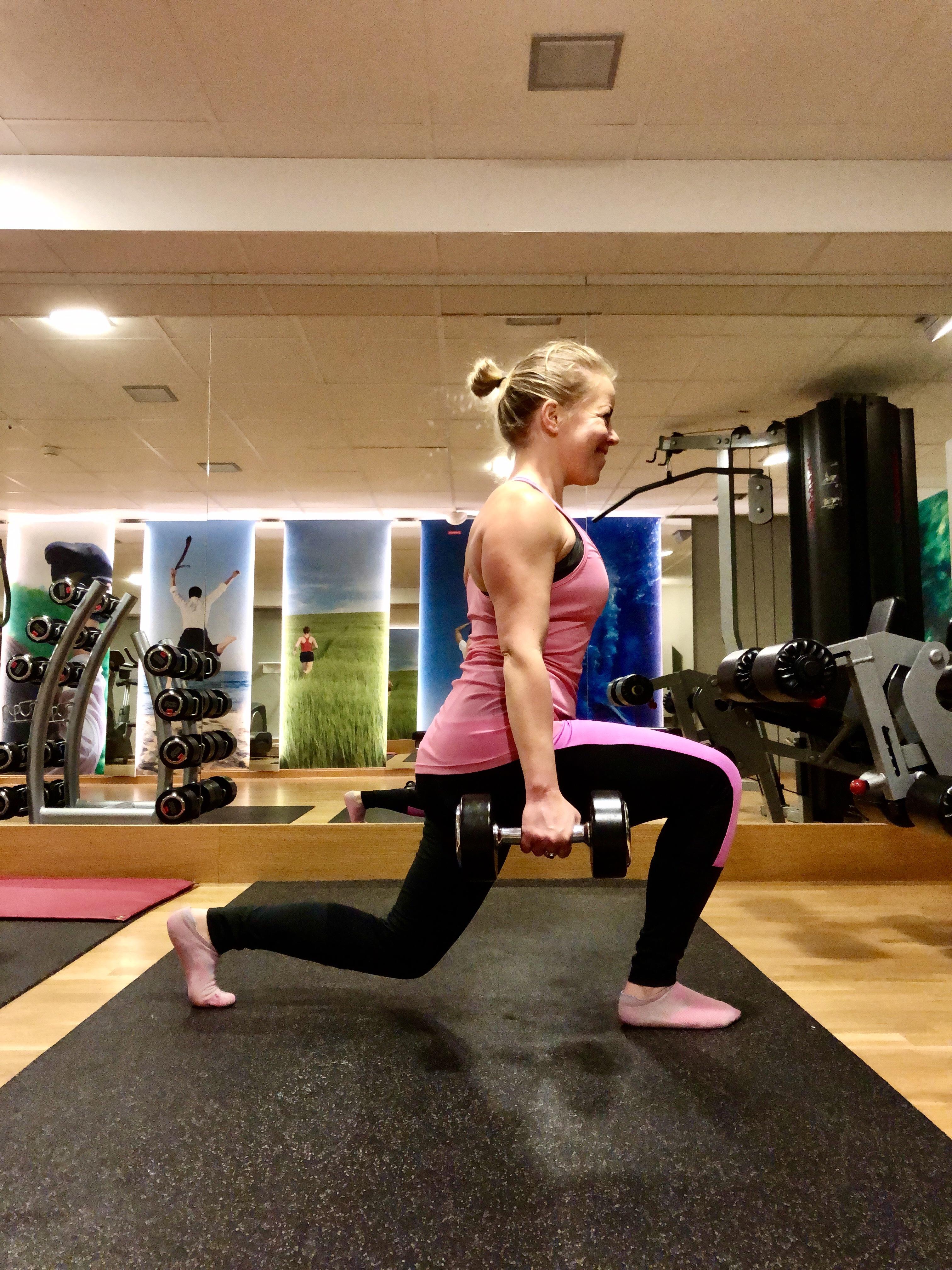 Styrketräning gym