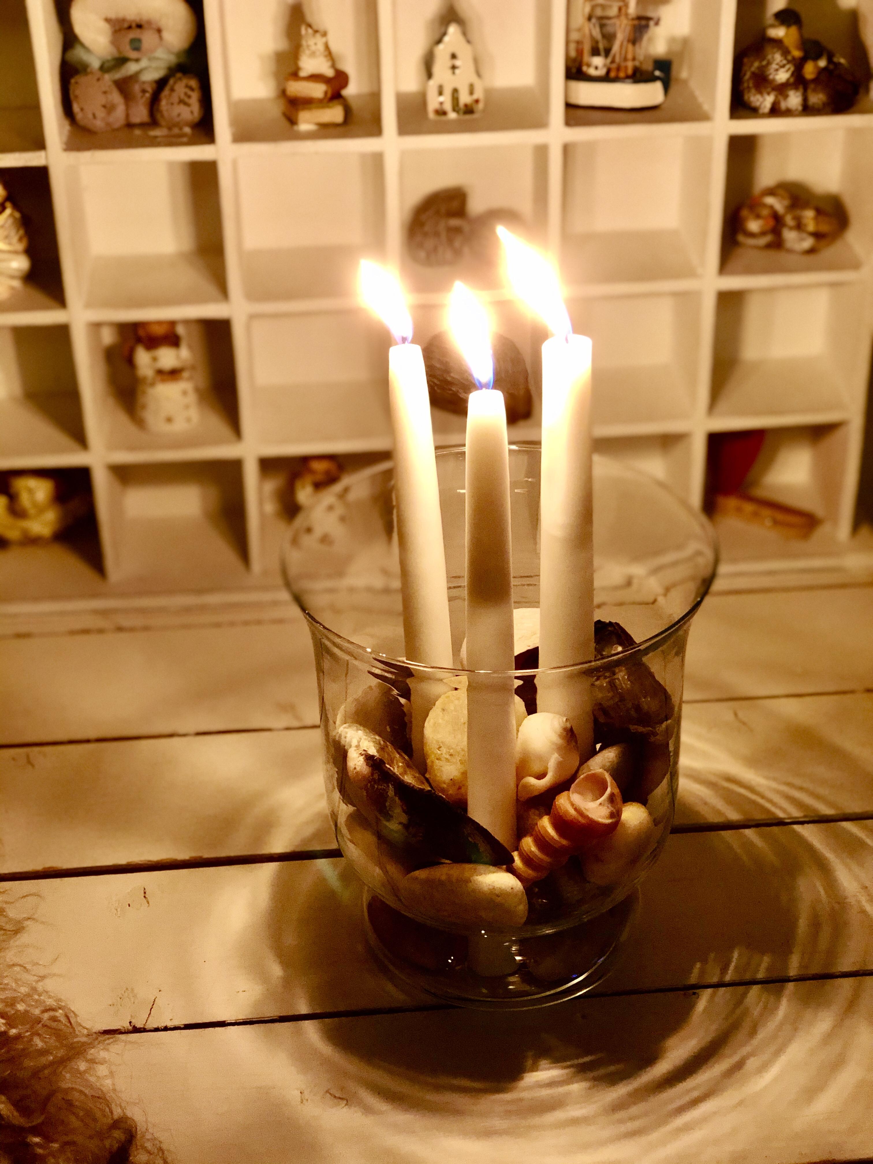 Ljuslykta hemma