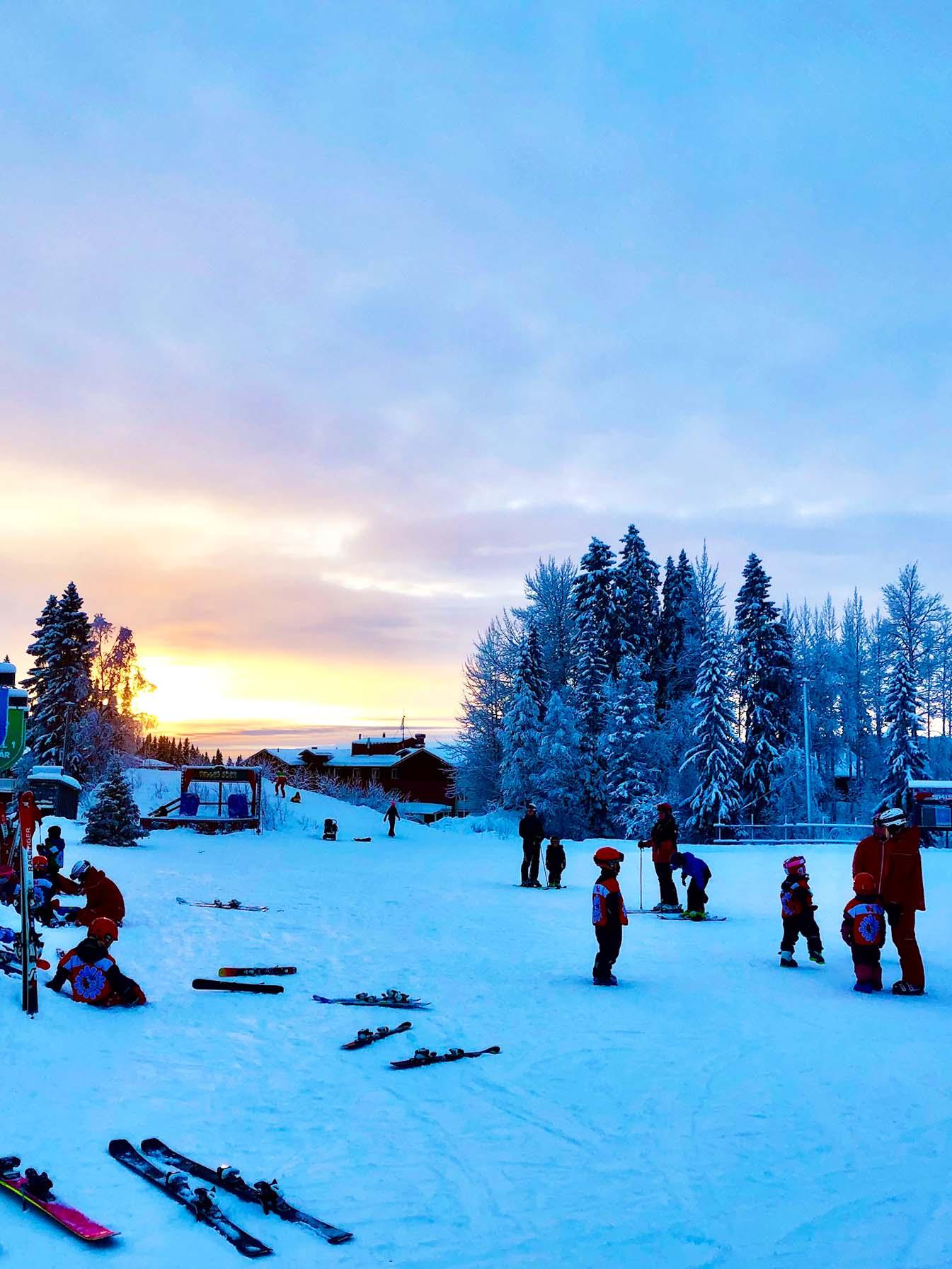 Vårt Åre - skidåkning i Björnen