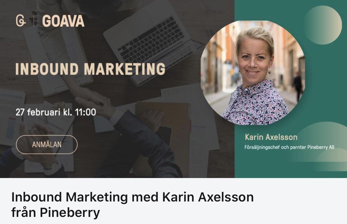 Karin Axelsson - Inbound Marketing