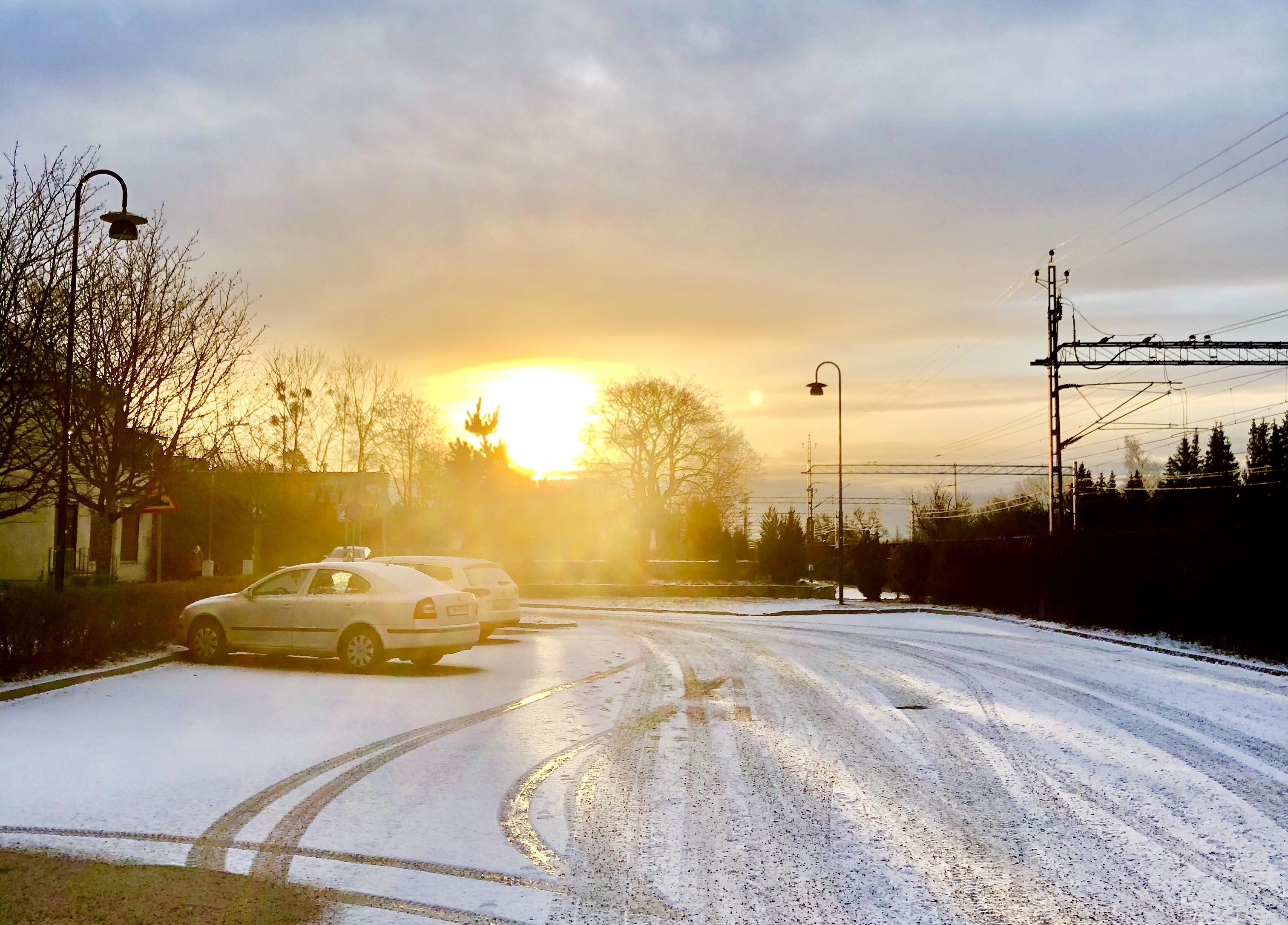Morgonsol februari