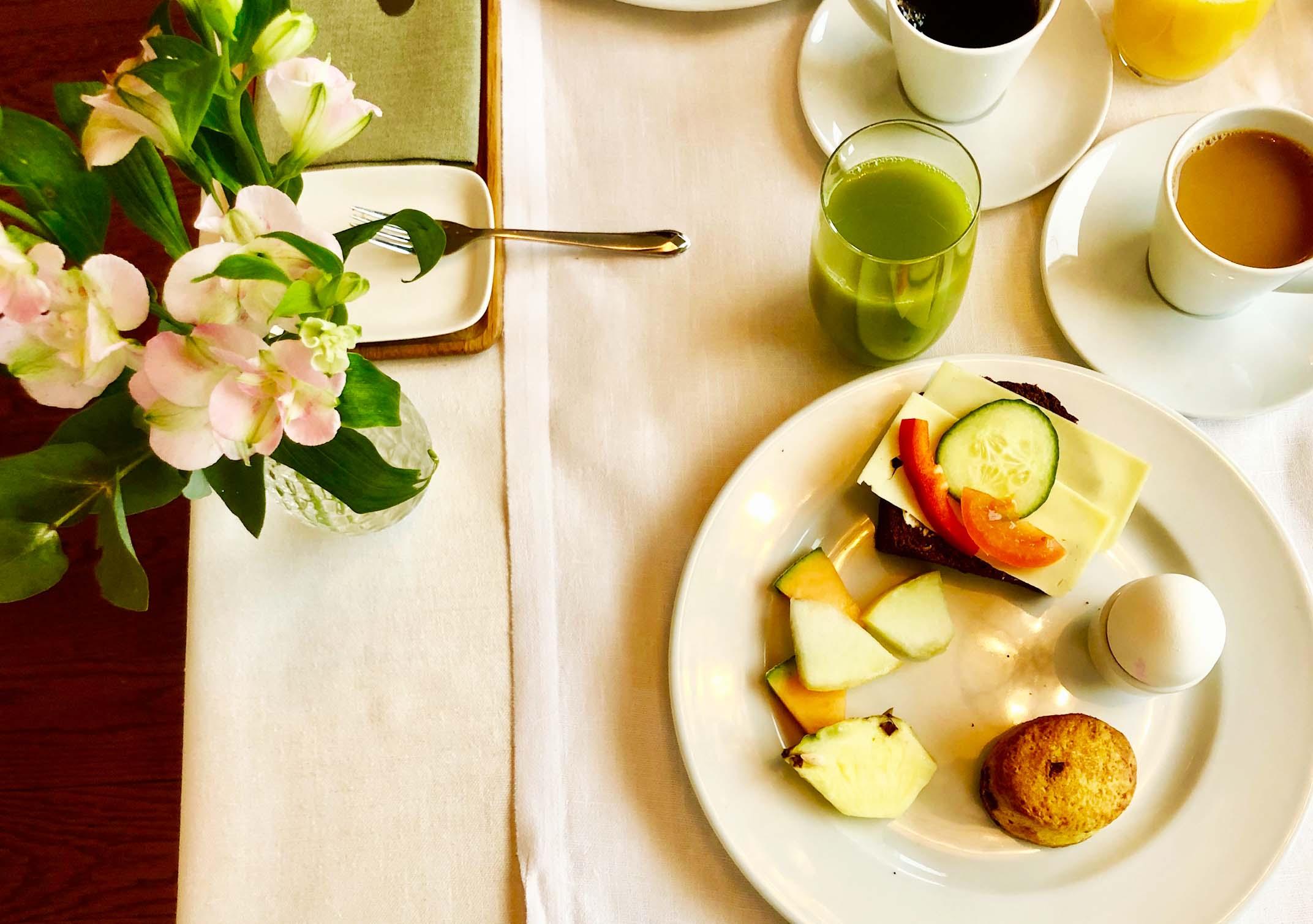 Sigtuna Stadshotell frukost