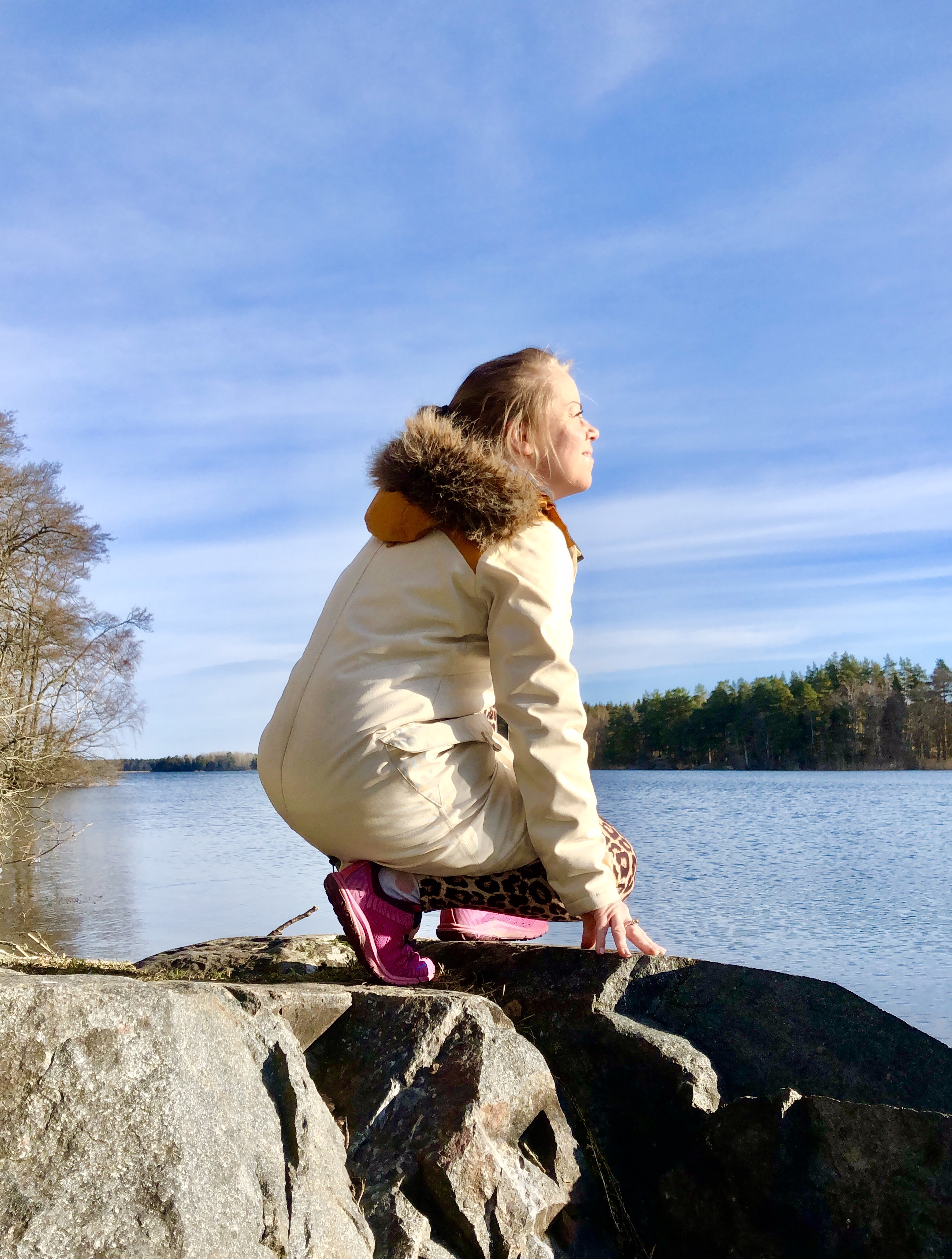 Vår vackra natur som består - nere vid sjön