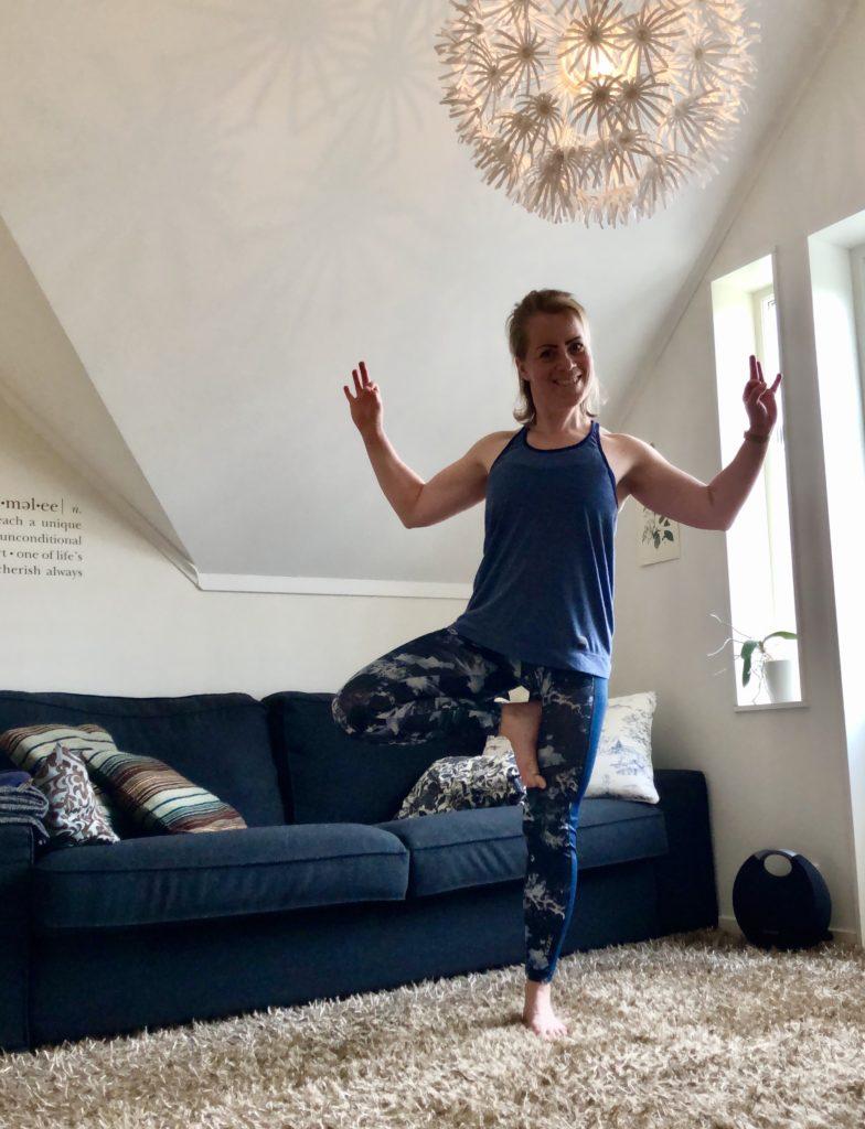 Yoga hemma - träning via Google Hangout