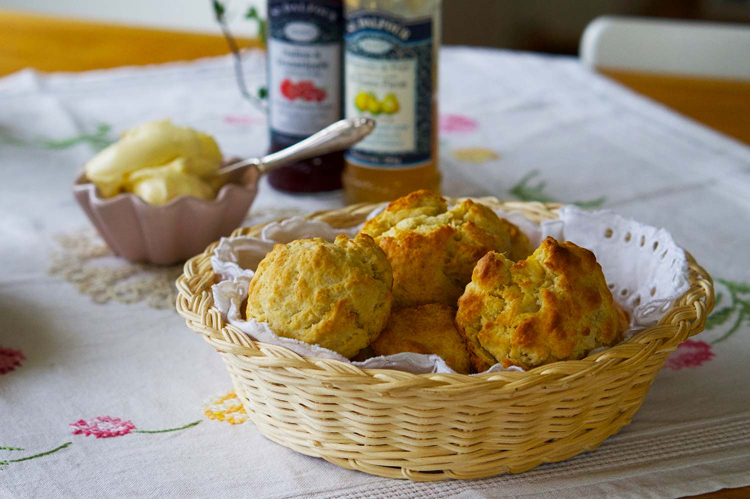 Klassiska scones recept