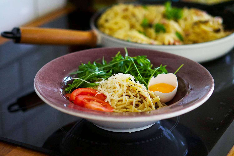 Spagetti Carbonara recept