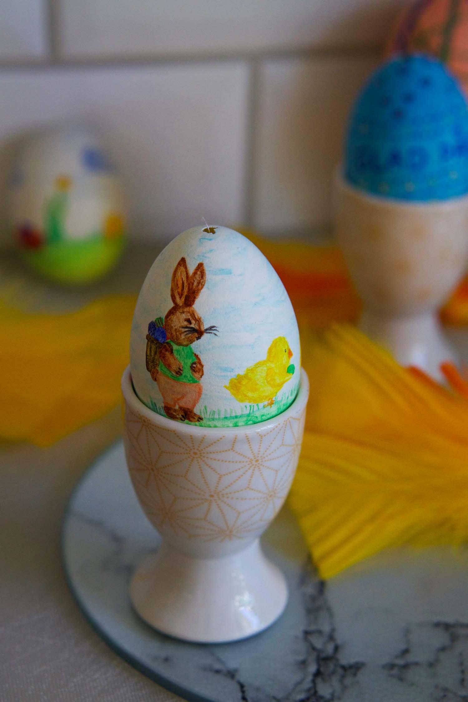 Påsken 2020 - målade ägg
