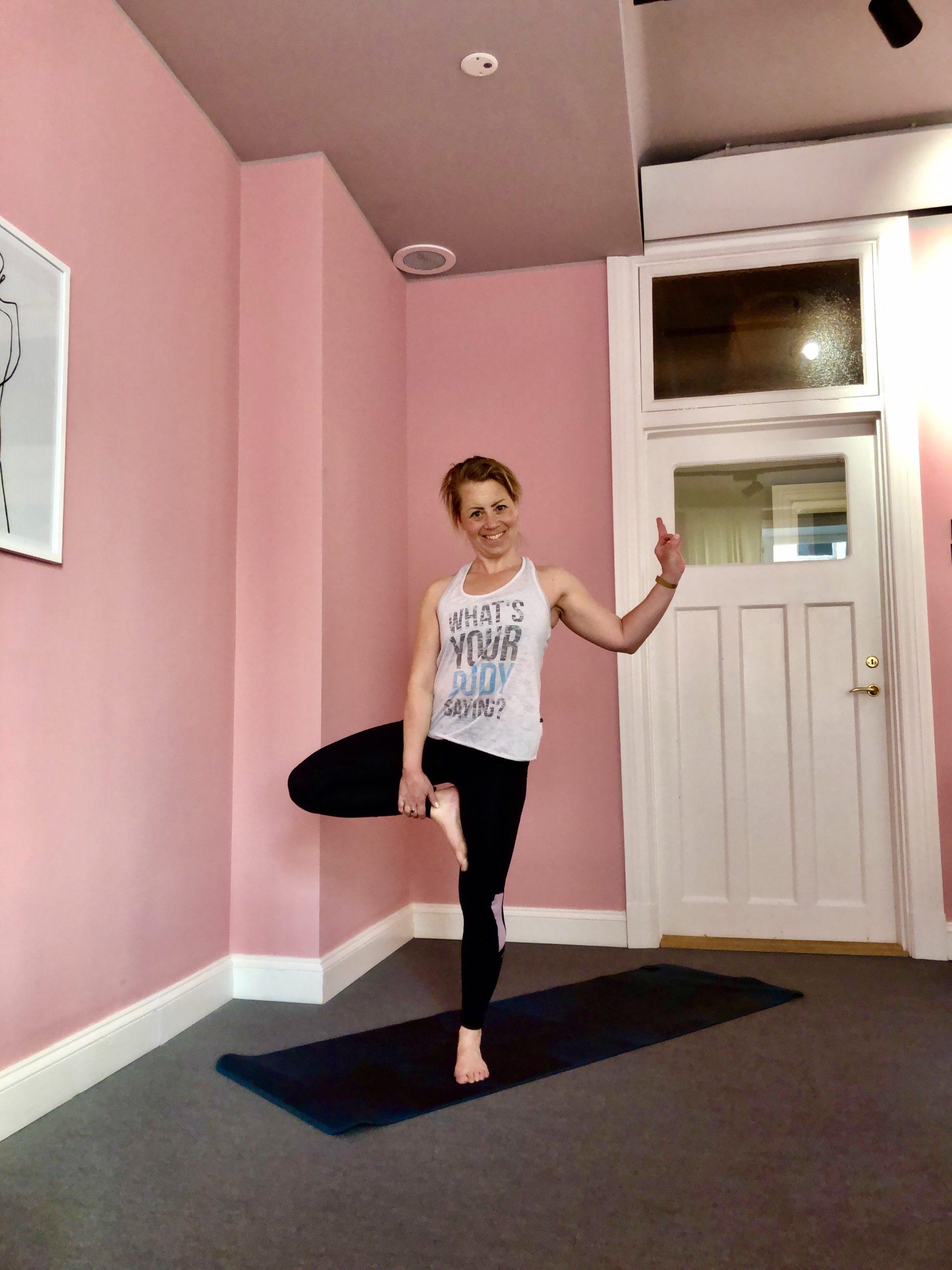 Yoga på kontoret
