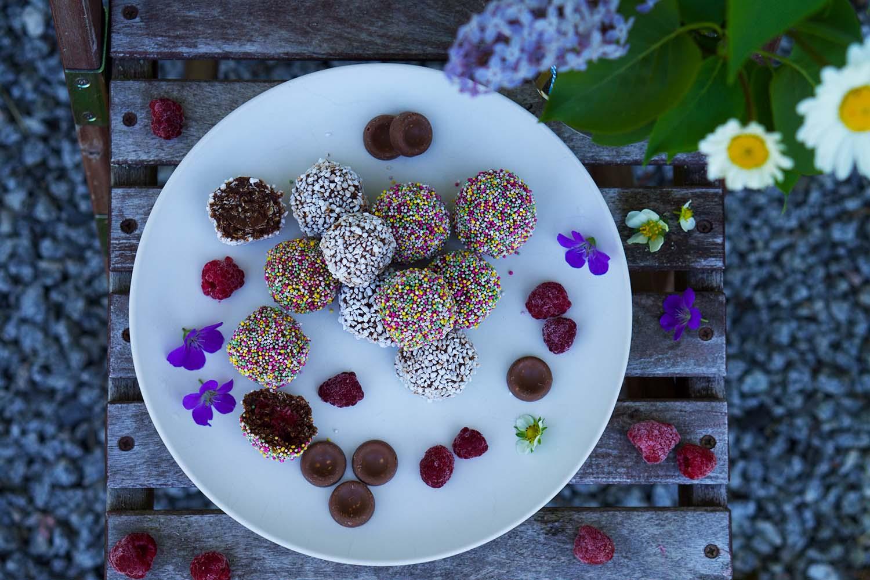 Chokladbollar med gömma recept