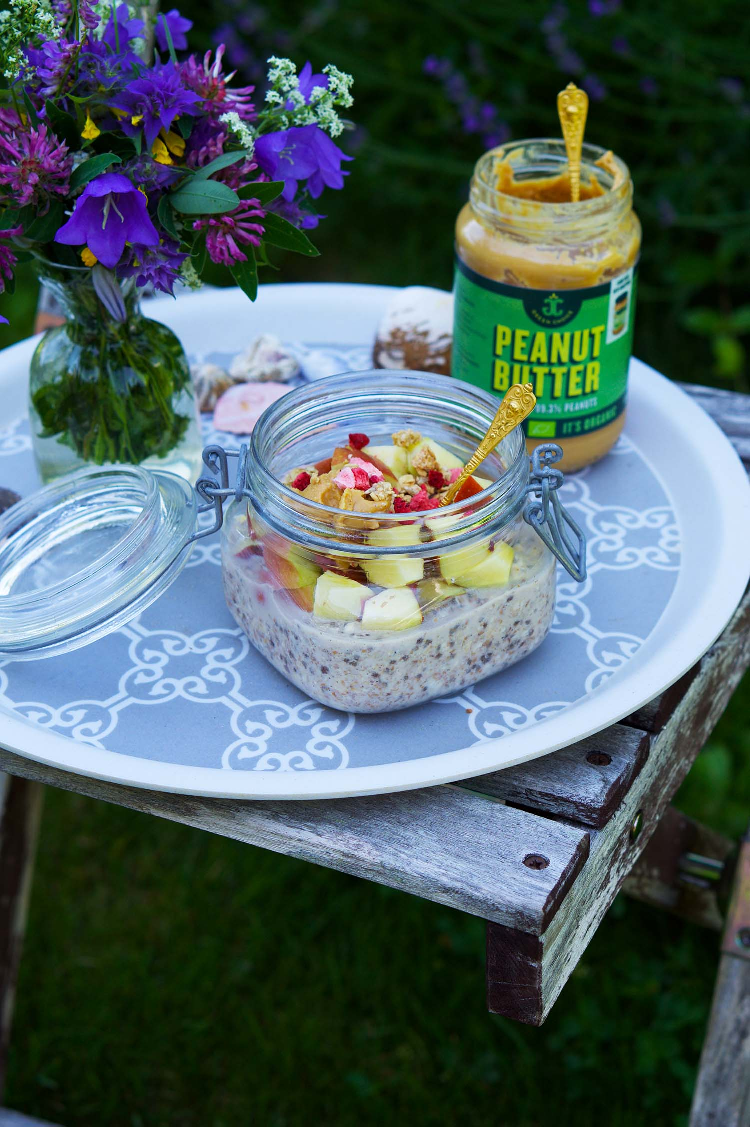 Overnight Oats äpple - recept