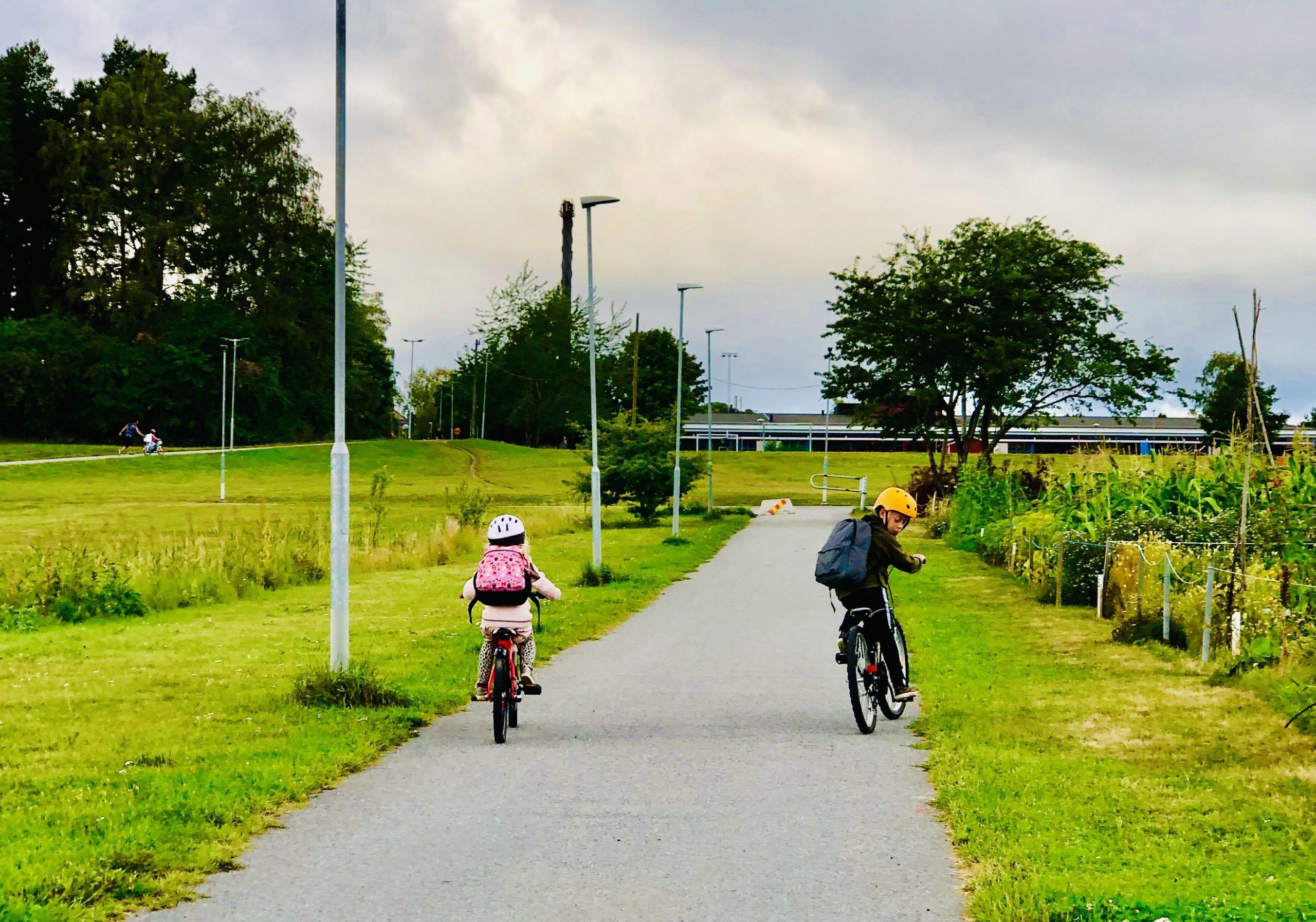 Cykling med barn