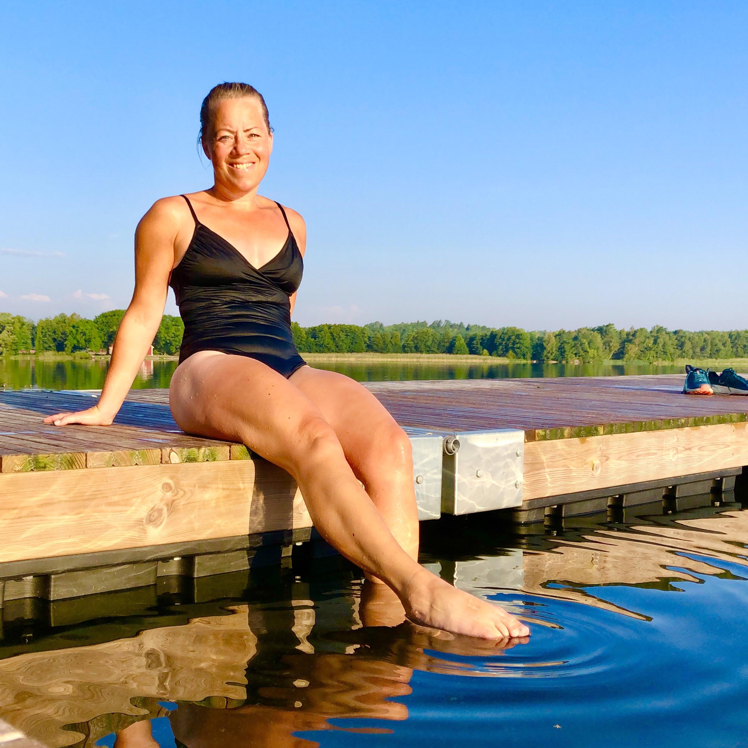 Mitt bästa jag - springa och bada