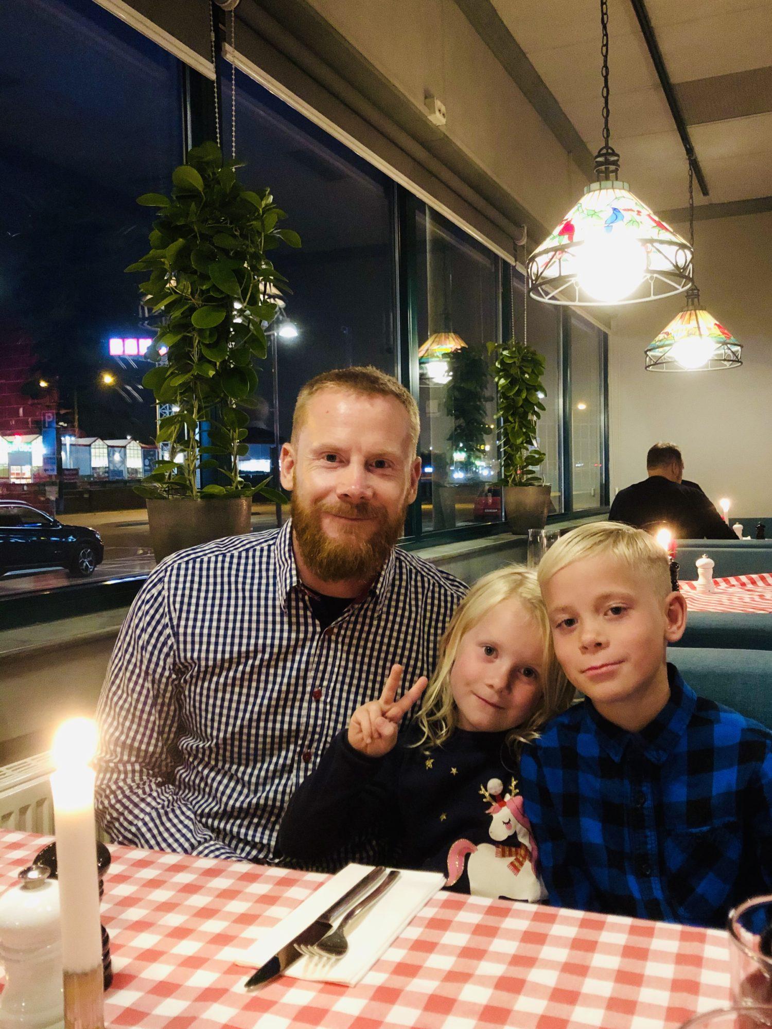 Staycation Stockholm - på restaurang Nonno's