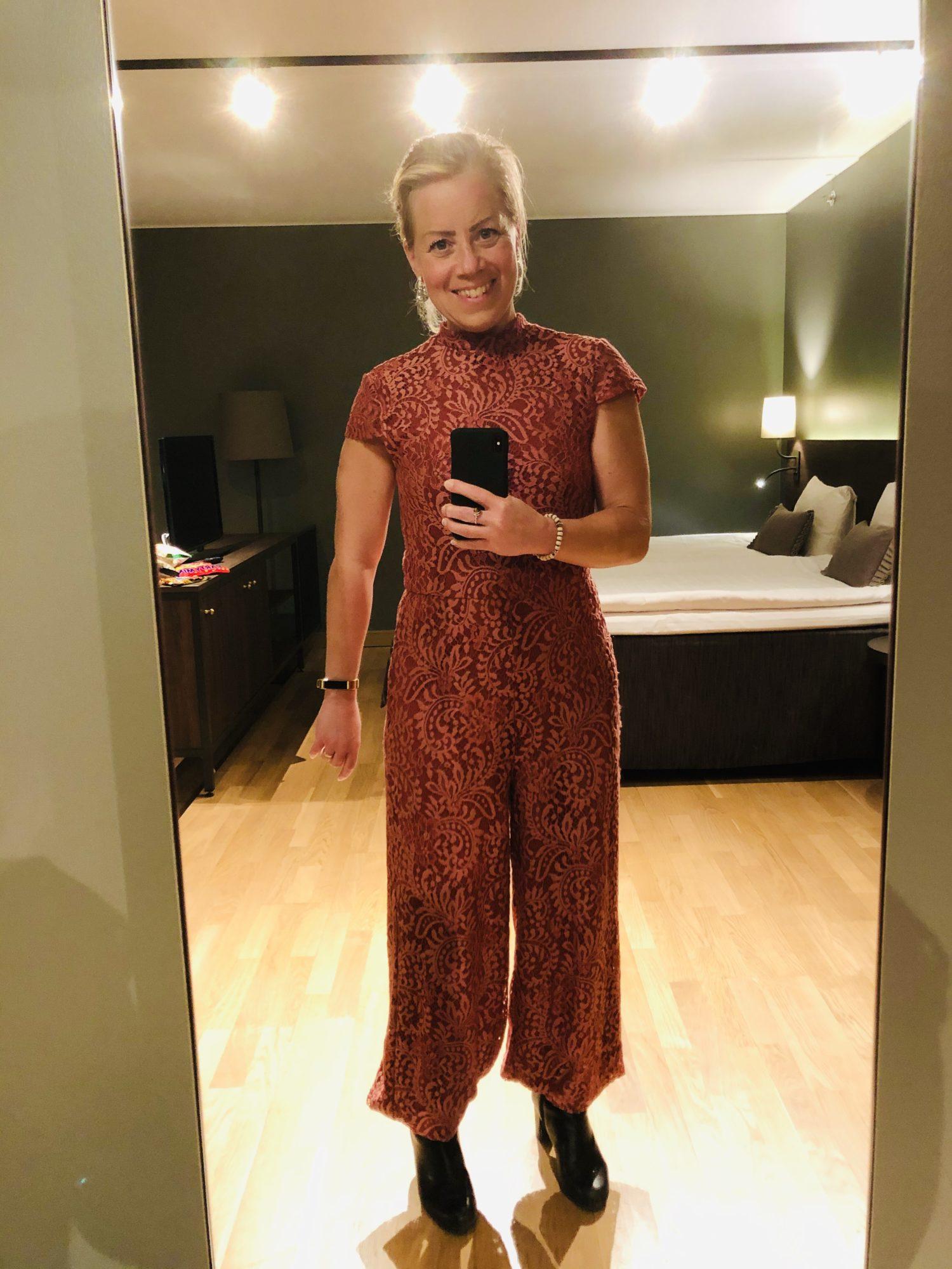 Karin Axelsson på hotell
