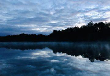Mörk, mysig och kall morgonlöpning