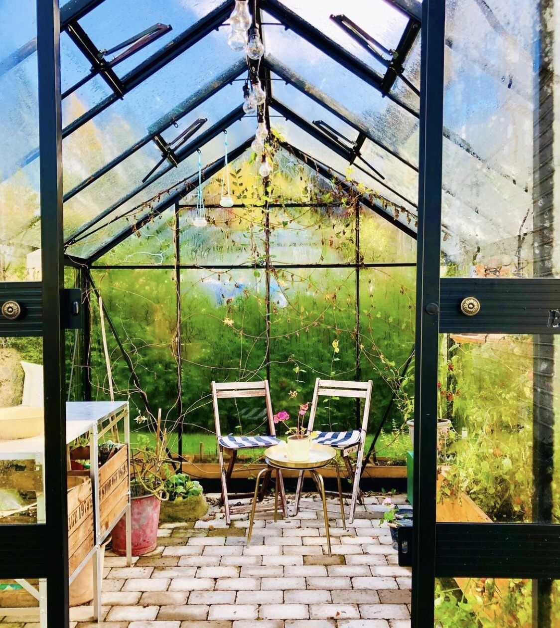 Växthuset på hösten