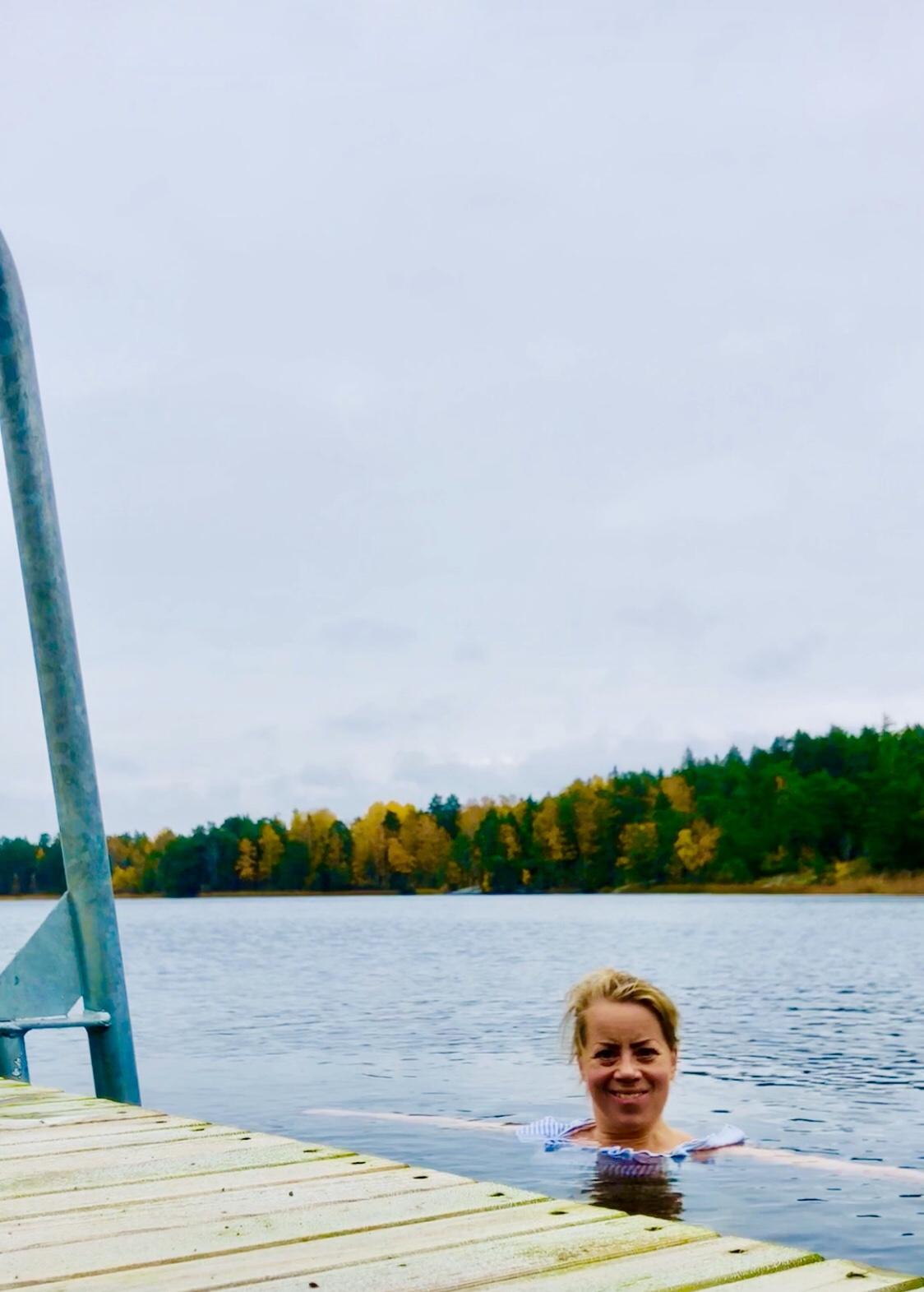 Kallbad oktober