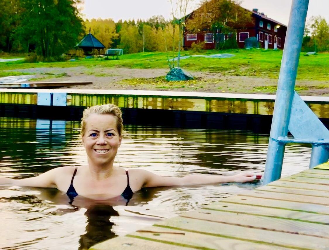 Karin Axelsson kallbadar
