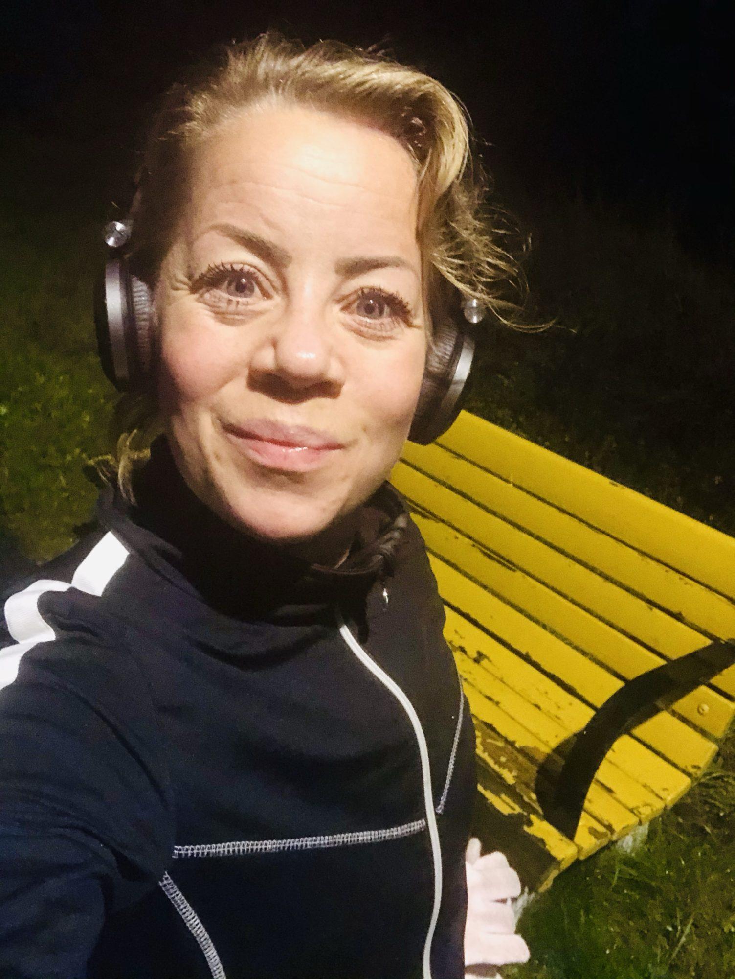 Löpning med styrkestopp