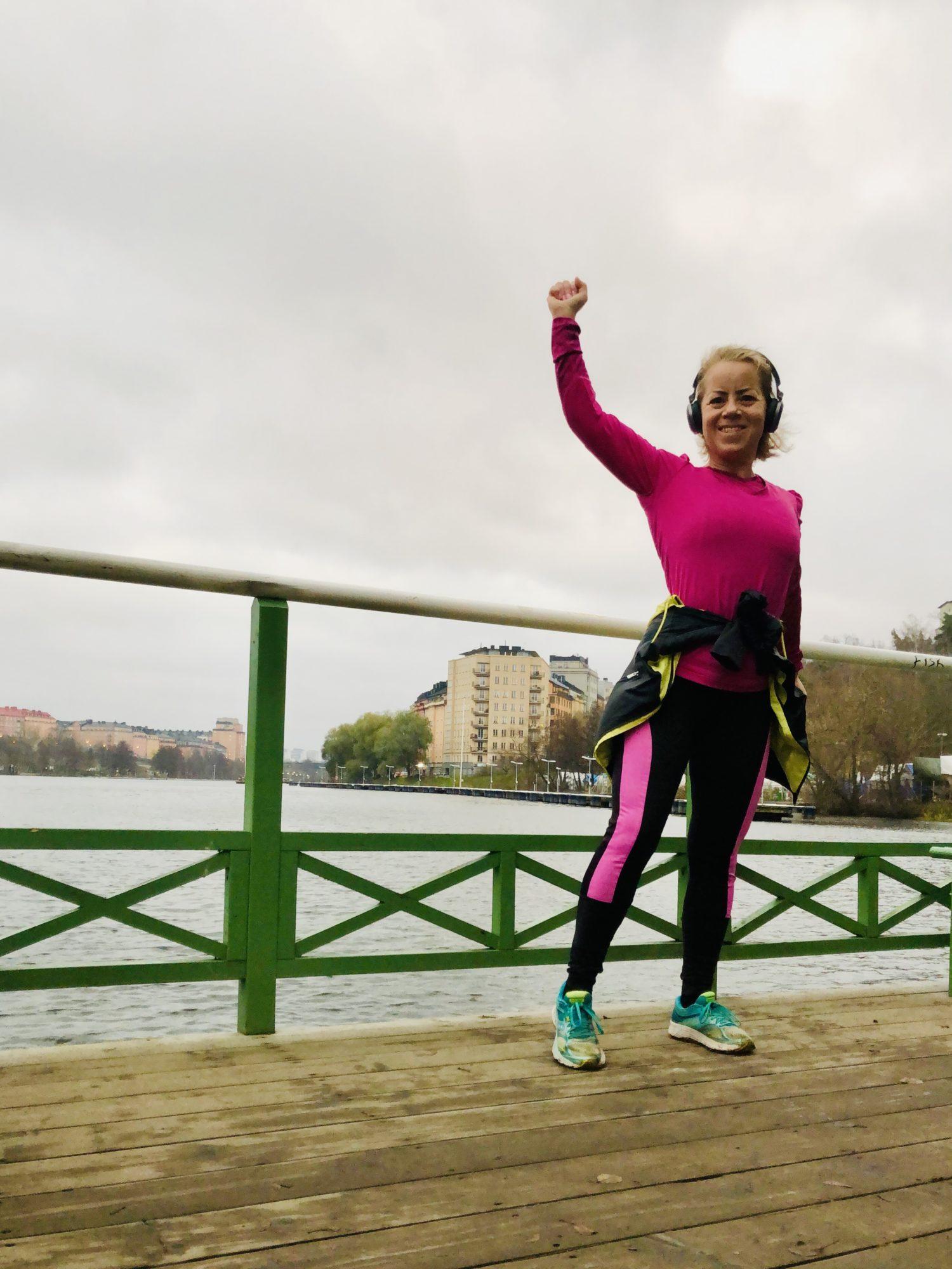 Karin Axelsson springer Kungsholmen Runt