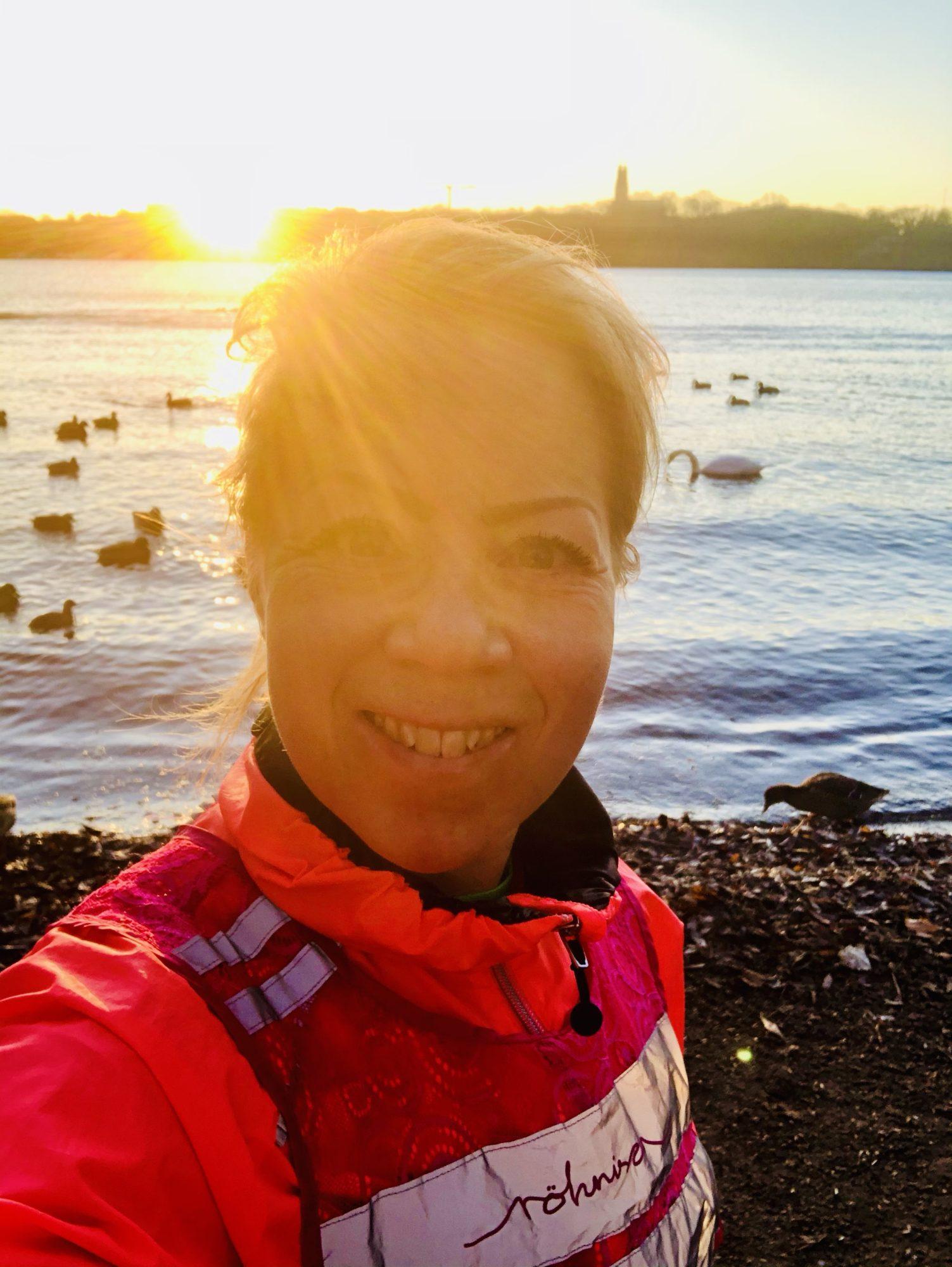 Veckans vackraste löpning i soluppgång