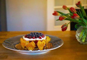 Nyttig Våffeltårta - recept