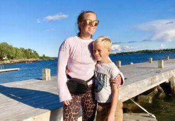 Nio år som mamma - Mamma och son