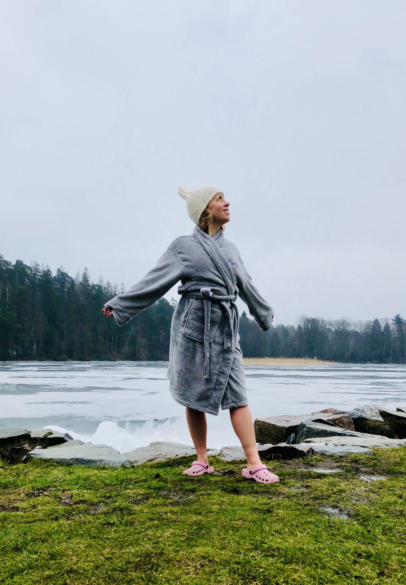 Vinterbada utan bastu - Karin Axelsson