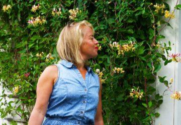 Se misstag som lärdomar - Karin Axelsson vid kaprifol