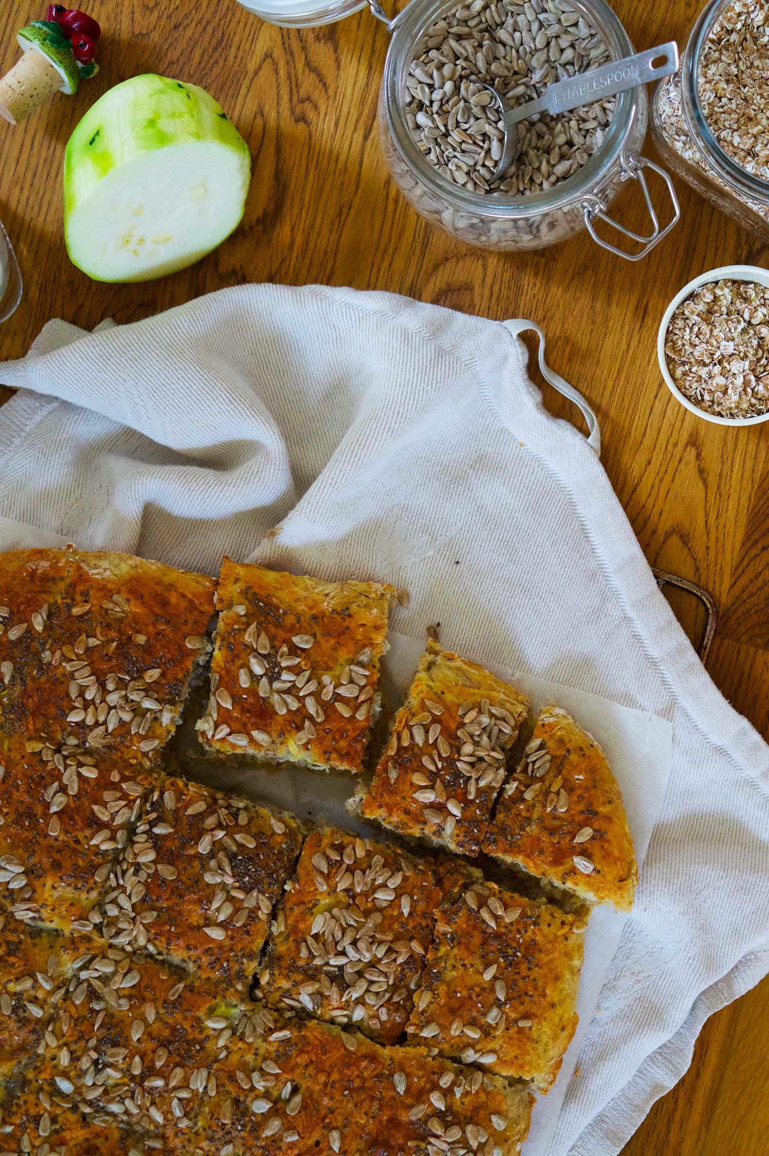 Zuccinibröd recept